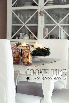 BELLE BLANC: Winter Bliss & Cookie Time