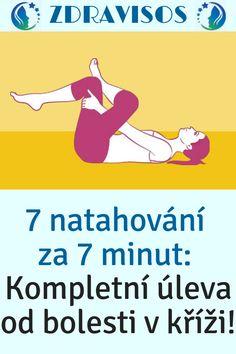 7 natahování za 7 minut: Kompletní úleva od bolesti v kříži! Origami, Memes, Fitness, Meme, Origami Paper, Origami Art