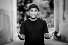 Star LA Chef Roy Choi Is Bringing a Piece of His Hometown to His New Restaurant in Las Vegas Las Vegas Restaurants, Fried Bologna, Roy Choi, Bologna Sandwich, Opening A Restaurant, Street Dogs, Drink Specials, Happy Hour, Wine Recipes