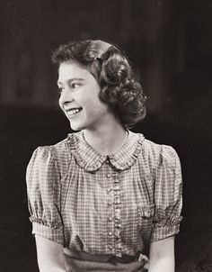 Princess Elizabeth, 1941.  Her father became George VI because his brother, Edward, couldn't do without his twice-divorced girlfriend.  George II never wanted the throne, and the agony he experienced.  Spelled the death of the Queen's tolerance. Edward and Wallace were never allowed near any royal dwelling after her father died.