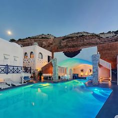 Infinity Pool at Astarte Suites Hotel, Santorini - Greece