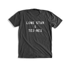 Lone Star & Tex-Mex T-shirt