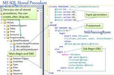create storedprocedure in sql database Sql Server Management Studio, Sql Tutorial, Business Logic, Student Information, Getting Fired, Prefixes, New Students, Java