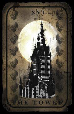 Tower Tarot Card by hexxxer.deviantart.com on @DeviantArt