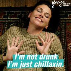 Just chillaxin. Watch Sutton Foster in the next episode of Younger. 10/9 C on TV Land. Click to watch an episode.