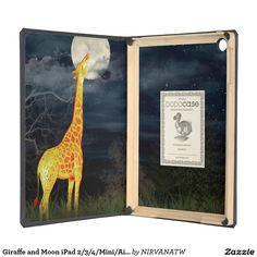 Giraffe and Moon iPad 2/3/4/Mini/Air DODOcase Case iPad Air Covers
