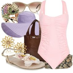 """""""Rapunzel - Beach"""" by annabelle-95 on Polyvore"""