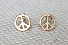 Peace Ohrstecker