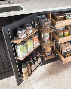 There are tons of new storage solutions that come with new kitchens that can really help maximize your kitchen -- so don't miss out! Storage solutions like pantries and super cabinets go a long way in helping you get the most out of your cabinets. The Martha Stewart Living kitchen line at The Home Depot has many different storage solutions, including optimized small kitchen spaces -- see all of the options in our latest catalog.