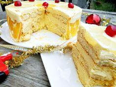 Reteta de tort Diplomat Kiwi, Vanilla Cake, Mousse, Cheesecake, Sweet, Desserts, Food, Olympus, Digital Camera
