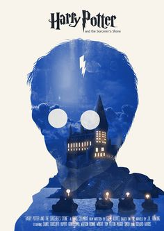 Harry Potter [and the Sorcerer's Stone poster]
