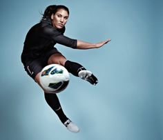 Top 99 Women of 2013 - Hope Solo honestly i think she should be Us Soccer, Nike Soccer, Play Soccer, Soccer Players, Morgan Soccer, Soccer Tips, Soccer Cleats, Hope Solo, Fifa