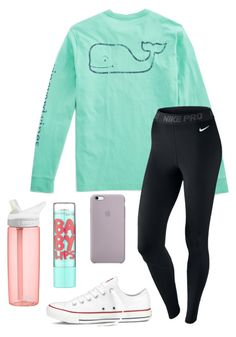 Designer Clothes, Shoes & Bags for Women Cute Outfits With Leggings, Cute Lazy Outfits, Teenage Girl Outfits, Sporty Outfits, Teen Fashion Outfits, Teenager Outfits, Athletic Outfits, Outfits For Teens, Cool Outfits