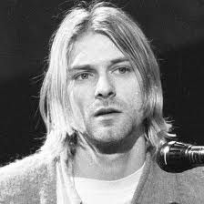 .This is Kurt Cobain from Nirvana that band I listened to when I was in highschool in the 90's