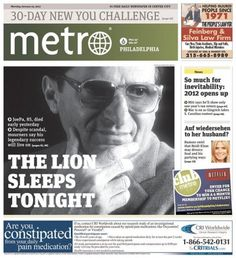 A look at today's Joe Paterno pages