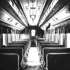 Interior View, passenger car. From the Jackson & Sharp Collection at the Delaware Public Archives. Jackson and Sharp was a company in Wilmington Delaware that built railroad cars and ships from 1863 to 1950. The collection includes more than 4,000 images.