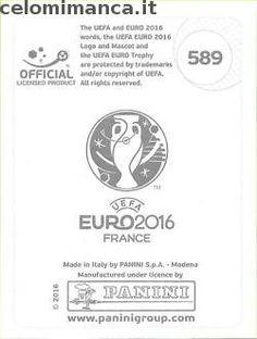 UEFA EURO 2016™ Official Sticker Album: Retro Figurina n. 589 João Moutinho