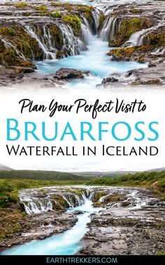 Bruarfoss waterfall in Iceland: how to get here and is it worth it? #iceland #waterfall #bruarfoss