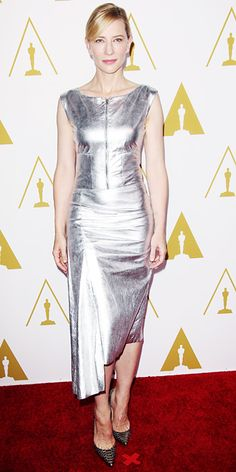 21f8d509085 Awards Show Style  Top Red Carpet Looks from the 2014 Oscar Nominees - Cate  Blanchett