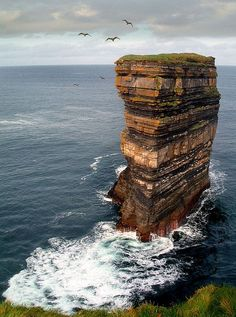 Ireland - Legend has it this is where St Patrick banished all the snakes in Ireland #St Patricks Day