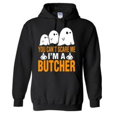 Halloween You Cant Scare Me I Am A Butcher - Heavy Blend™ Hooded Sweatshirt