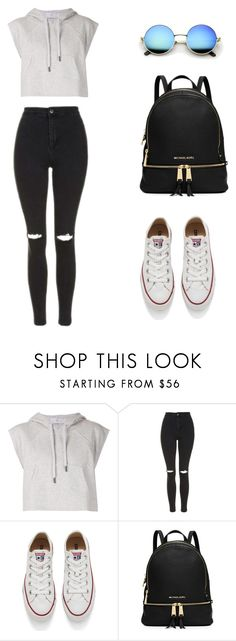 """Untitled #9"" by violeta-02 ❤ liked on Polyvore featuring adidas, Topshop, Converse and MICHAEL Michael Kors"
