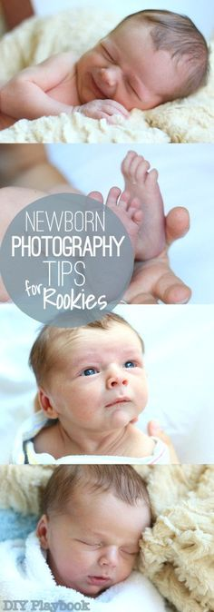We aren't professional photographers, but we did learn a few things when shooting a newborn session. Here are our rookie tips for newborn photography.