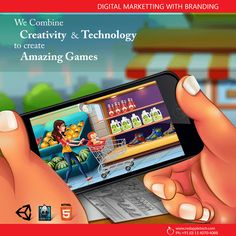 Build a game which ensures a lot of downloads and addictive.Only a trusted or branded mobile game development company in India can ensure you that.