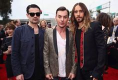 30 Seconds To Mars at the 2014 Grammy Awards