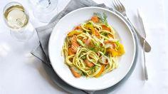 Linguine mit Lachs-Dill-Sauce Rezept » Knorr