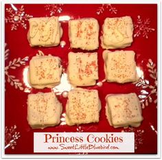 """Princess Cookies""  ~ Wheat Thin Peanut Butter Sandwiches Dipped in Chocolate ~ SO YUMMY!"