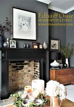 30 Wonderful Photo of Lounge Living Room . Lounge Living Room Dark Grey Walls Victorian Terrace Lounge Bestrooms In 2018 Living Room With Fireplace, Living Room Grey, Home Living Room, Living Room Furniture, Living Room Designs, Cozy Living, Open Fireplace, Furniture Chairs, Living Room Ideas With Grey Walls
