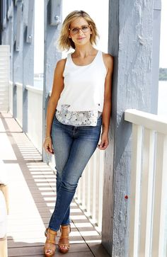 Sarah Michelle Gellar is in Australia for Specsavers. Picture: Nikki Short