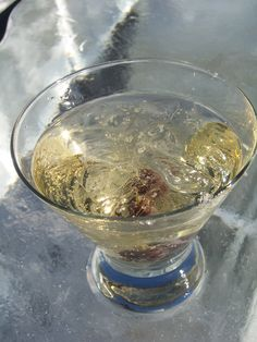 Icewine martinis are just one of the things you can find on the menu at the annual Icewine Festival in Nova Scotia.