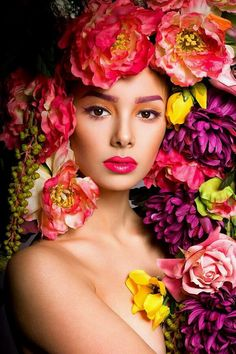 A VISION IN FLOWERS...... BELLA DONNA­