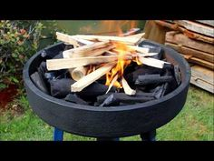 Forge build using a truck brake drum - YouTube