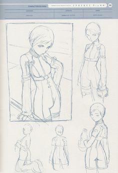 Inspiration for Ia Character Sketches, Character Design References, Character Drawing, Character Concept, Concept Art, Character Design Teen, Character Design Animation, Character Design Inspiration, Range Murata