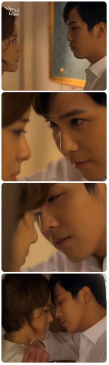 Kang Ju ssi getting a little too close there. Totally lovin' Bride of the Century so far =)