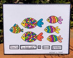 """World Of Michael Trent: Stamp Ink Paper """"Back To School"""" Challenge with Memory Box"""
