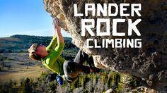 Lander Rock Climbing by Kyle Duba. Lander, Wyoming.  Beautiful climbing, wonderful people.  Here is my angle on it.