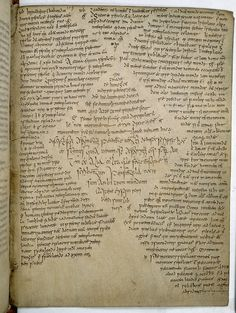 Book of Armagh, an Irish manuscript which dates from c. 9th century AD
