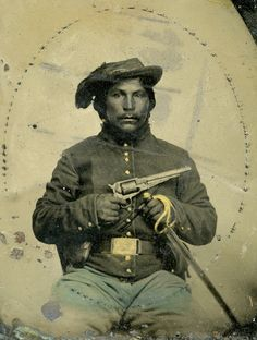 Civil War Virtual Museum | Native Americans in the War | Unidentified Federal American Indian