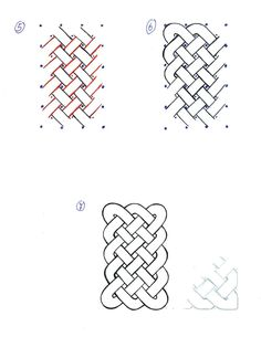 How to draw Celtic Knots 02 by SecondGoddess.deviantart.com on @DeviantArt