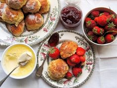 Traditional English Tea Time Scones