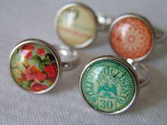 Tea Rose Home: New Rings