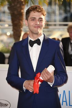Xavier Dolan - Palme D'Or Winners Photocall - The 67th Annual Cannes Film Festival