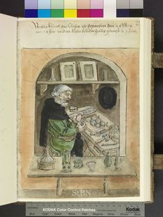 1554 glaser, glass blower, glass maker  Die Hausbücher der Nürnberger Zwölfbrüderstiftungen