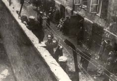 Ajzyk and Jakob Wierzbicki have been identified in this photo taken on 5/10/41 in the Warsaw Ghetto