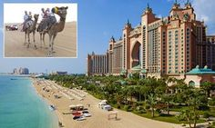 There's a local joke that Dubai holds the world record for world records. Robert Hardman enjoys a stay at Atlantis, The Palm, a spectacular hotel resort/fantasy castle with a few records of its own.