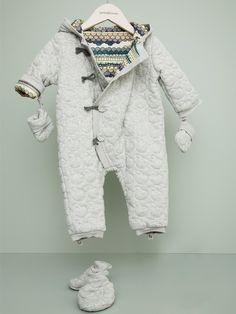 Bonnie baby London . Garbo&Friends . Reversible Snowsuit IGGY .